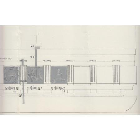II a. patalpos 8 XIX a. vid. antablemento frizo metopu tapybinis dekoras