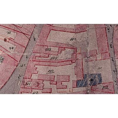 Ištrauka iš 1845-1859 Vilniaus plano