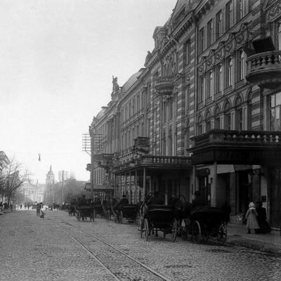 1900-1910 m. Stanislaw Filibert Fleury fasado fragmentas