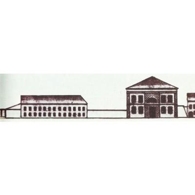 Į gyvenamąjį namą rekonstruota varpinė ir į anatomikuma - cerkvė 1834 m. Spaso gatvės išklotinėje