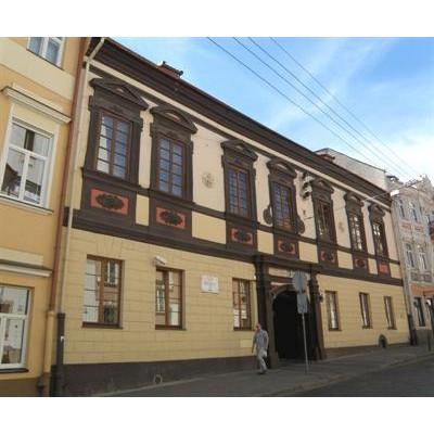 Administracinio pastato Dominikonų 11 fasadas