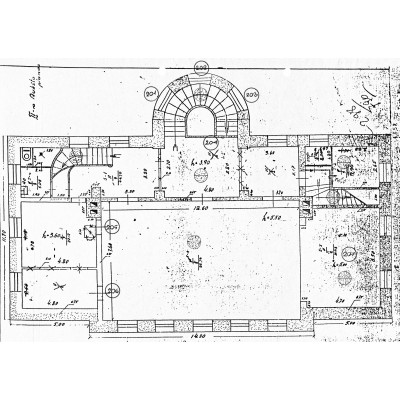Magistrato darbuotojų klubas Tado Kosciuškos g. 28 Vilniuje architektūros tyrimai