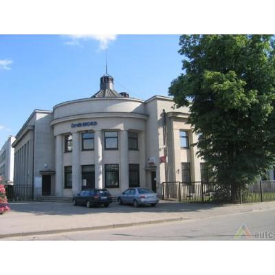 M.Songailos projektuotas bankas Mažeikiuose