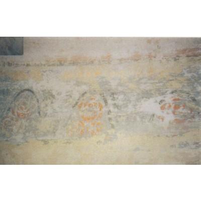 Patalpos 1 VII-to stratigrafinio sluoksnio (1903 m.) polichrominis dekoras