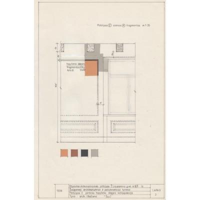 Pirminio, XIX a. polichrominio dekoro retrospekcija