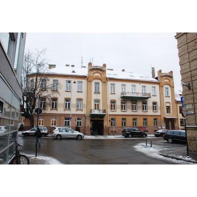 Tilto g. 8 / Ž. Liauksmino g. 3, Vilniuje pastatas
